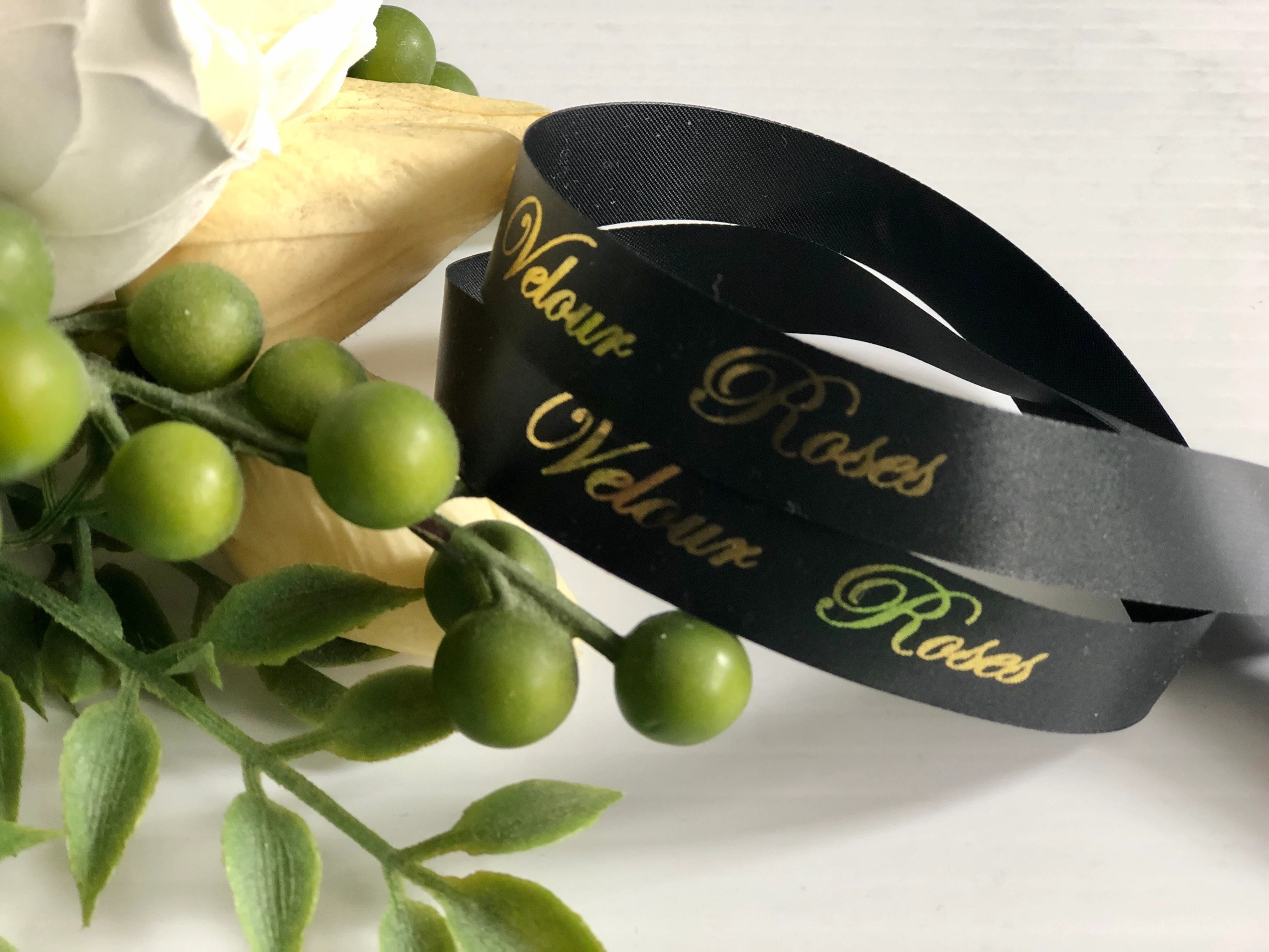 Wedding 16mm Personalized Printed Ribbons for Any Occasion  image 4
