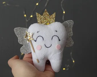 tooth fairy pillow etsy