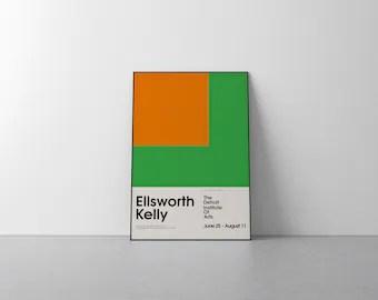 ellsworth kelly etsy
