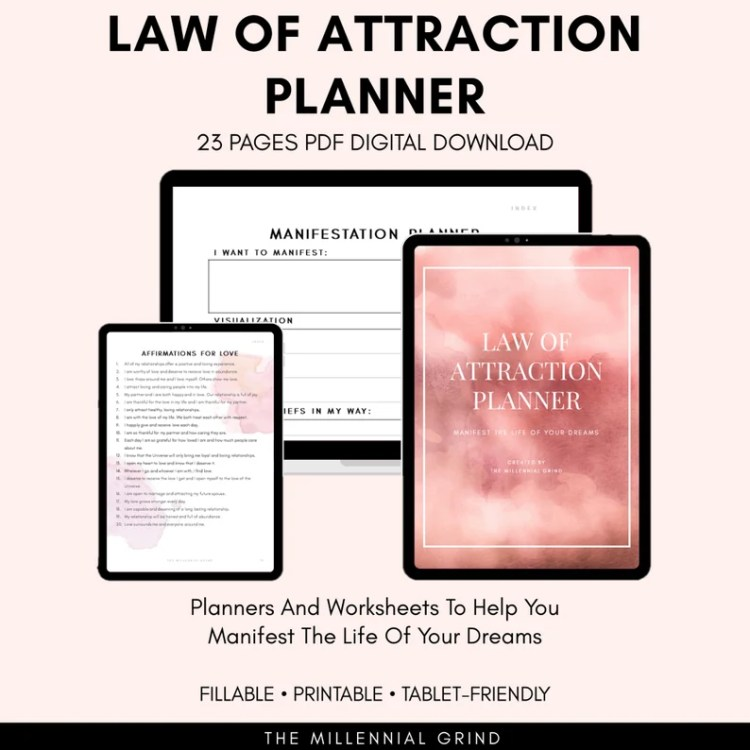 Law of Attraction Planner Law of Attraction Journal image 10