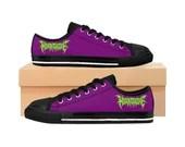 Horrorcore Nuclear Green/Purple Men's Sneakers