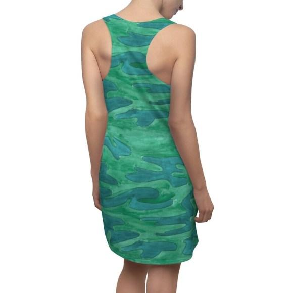 Urban Art Racerback Dress 7  Retro custom gift  dresses image 0