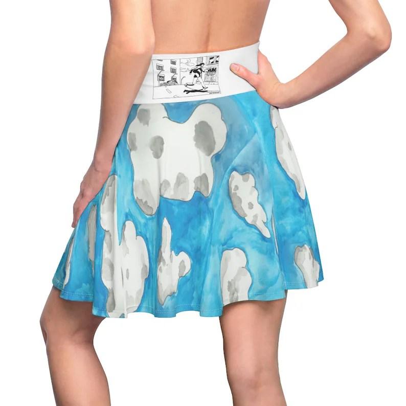Urban Art Skater Skirt 1  Retro custom gift  skirts dresses image 0