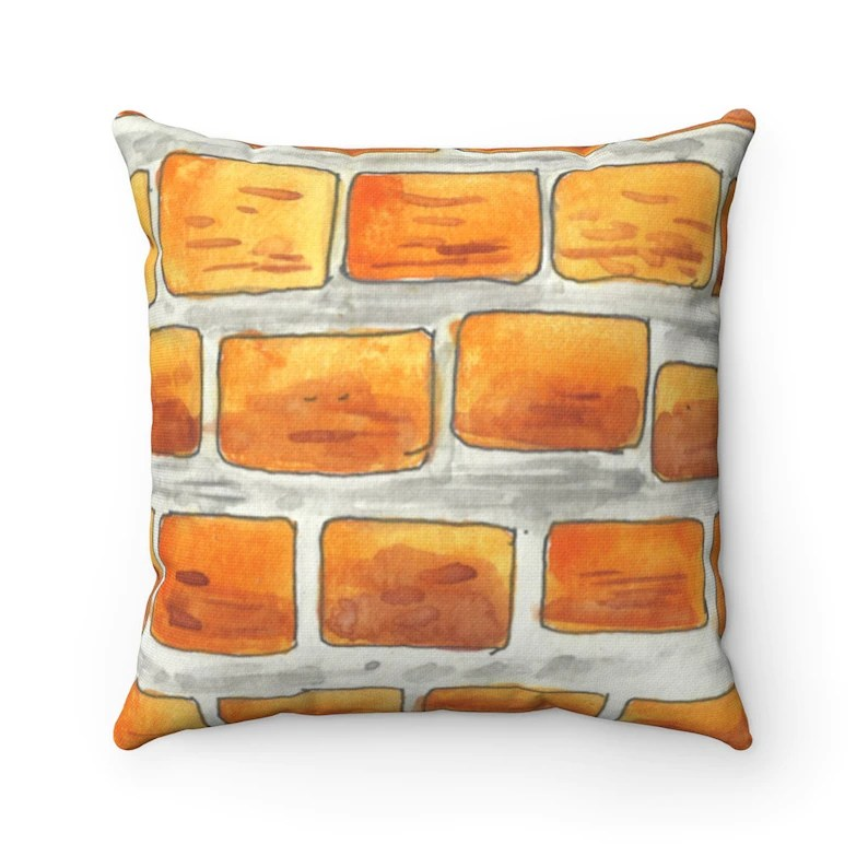 Cool Art Throw Pillows 13  Retro custom gift decorative image 0