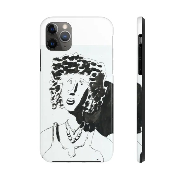 Cool Art Phone Case 27  Retro custom gift designer image 0