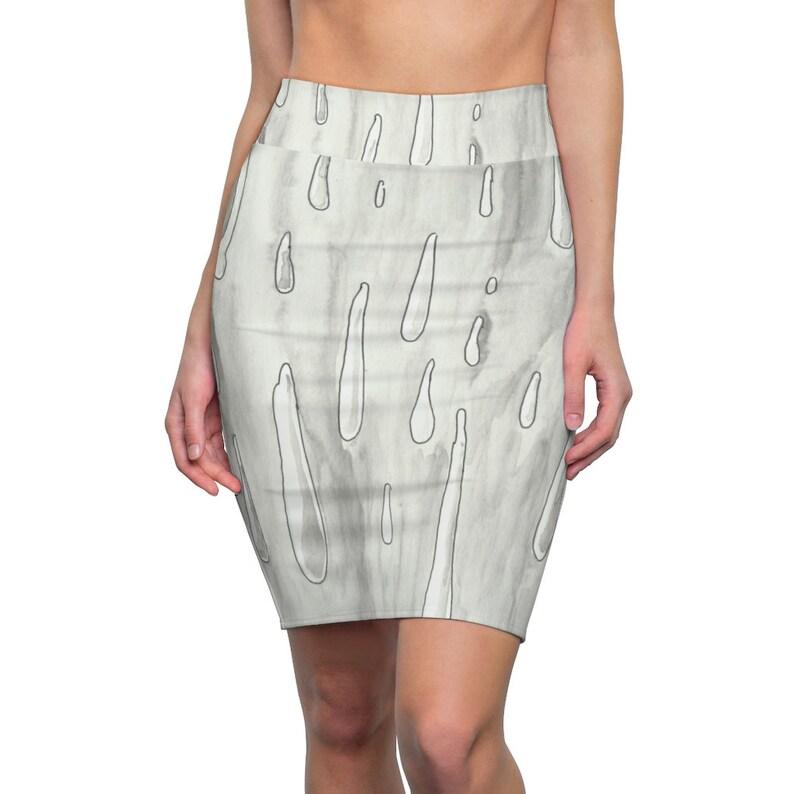 Urban Art Pencil Skirt 5  Retro custom gift  skirts dresses image 0