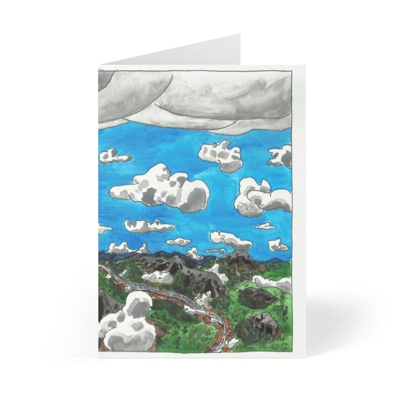 Handmade Urban Art Cards With Envelopes 11  Retro custom gift image 0