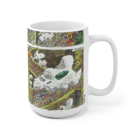 Urban Art Mug 2 sizes 78  Retro custom gift unique mugs image 0
