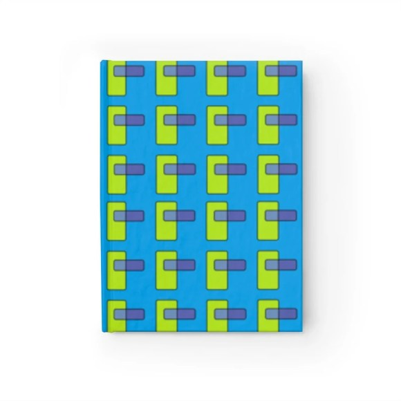 Blank Journal With Cool Art Cover 46  Retro custom gift image 0