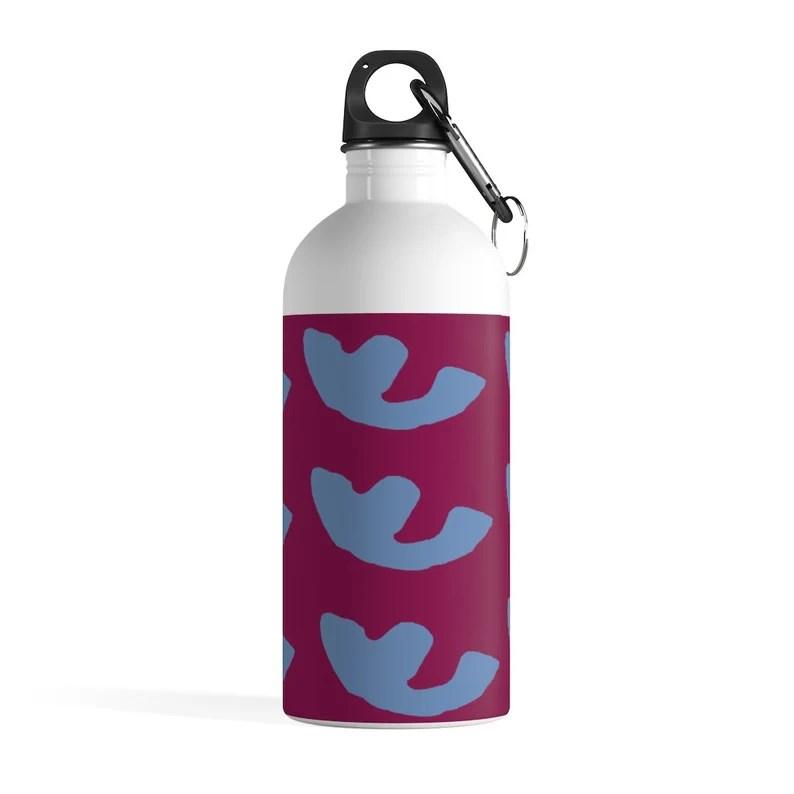 Cool Art Water Bottle 31  Retro custom gift pop art line image 0