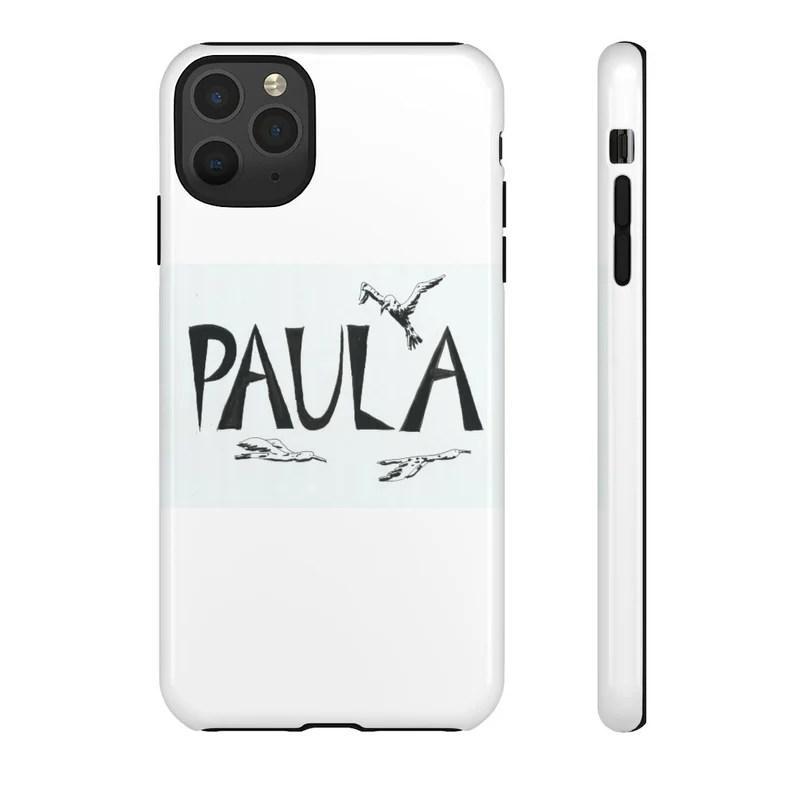 Personalized Phone Case  Retro custom gift aesthetic phone image 0