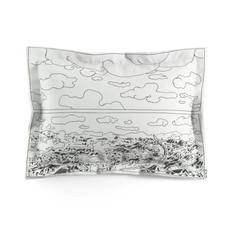 Cool Art Microfiber Pillow Sham 11  Retro custom gift image 0