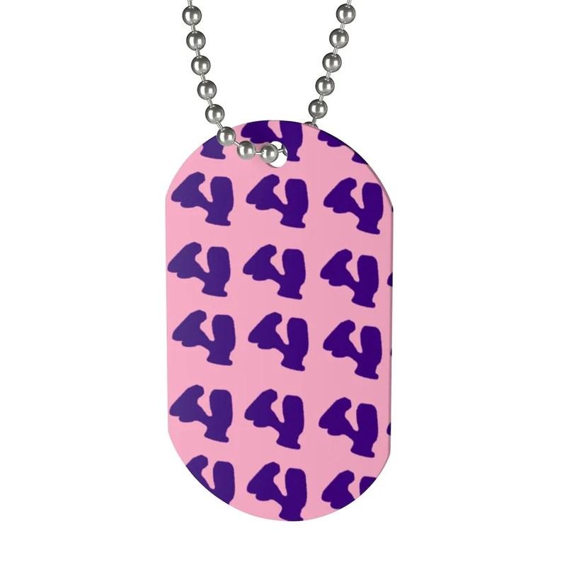 Cool Art Dog Tag 24  Retro custom gift pop art line art image 0