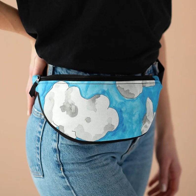 Cool Art Fanny Pack 4  Retro custom gift pop art line art image 0