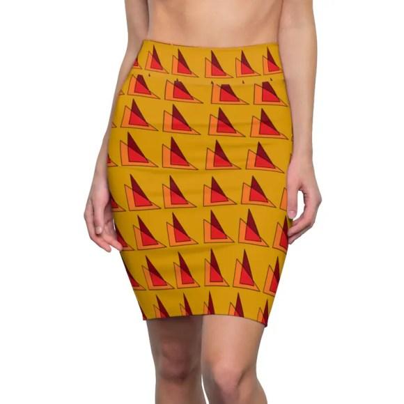 Cool Art Pencil Skirt 16  Retro custom gift  skirts dresses image 0