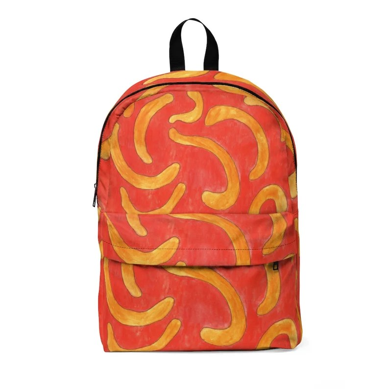 Urban Art Large Backpack 7  Retro custom gift  backpacks image 0