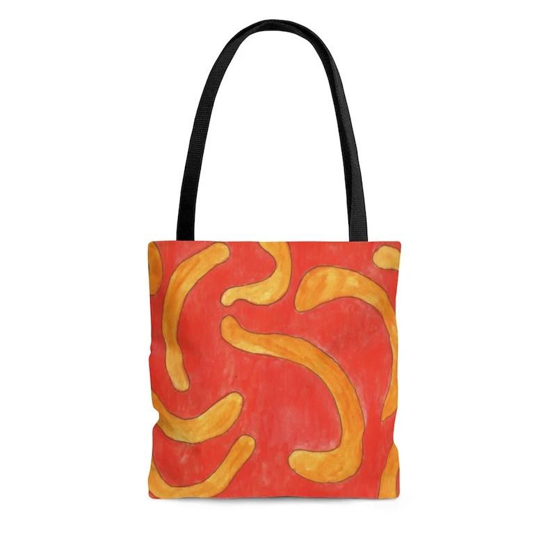 Urban Art Tote Bag 3 sizes 16  Retro custom gift aesthetic image 0