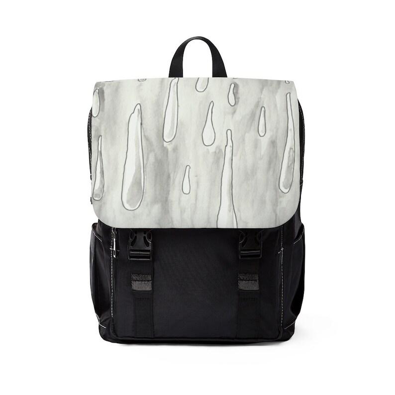 Urban Art Canvas Mini Backpack 10  Retro custom gift image 0