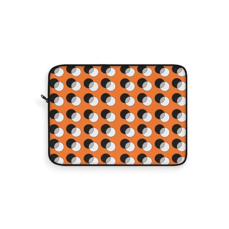 Cool Art Laptop Sleeve 27  Retro custom gift line art pop image 0