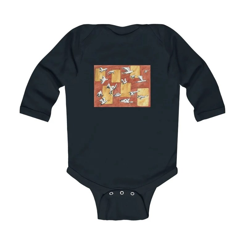 Urban Art Baby Onesie 8  Retro custom gift gender neutral image 0