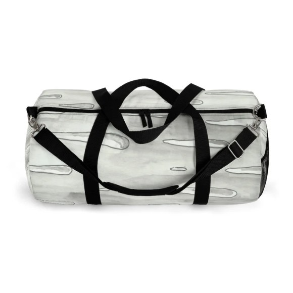 Cool Art Duffel Bag 2 sizes 7  Retro custom gift backpacks image 0