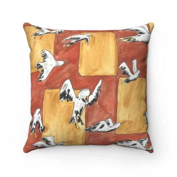 Urban Art Throw Pillows 1  Retro custom gift decorative image 0