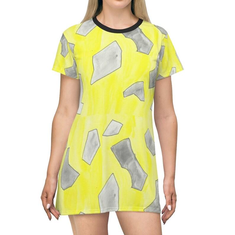 Urban Art T-Shirt Dress 10  Retro custom gift petite plus image 0