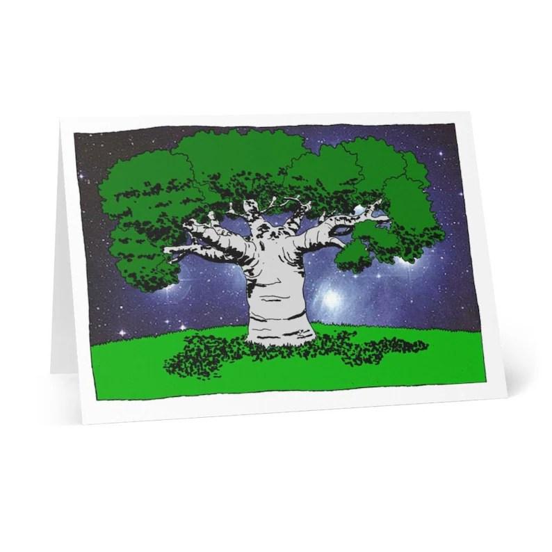 Handmade Urban Art Cards With Envelopes 3  Retro custom gift image 0