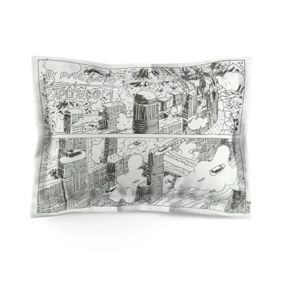 Cool Art Microfiber Pillow Sham 12  Retro custom gift image 0
