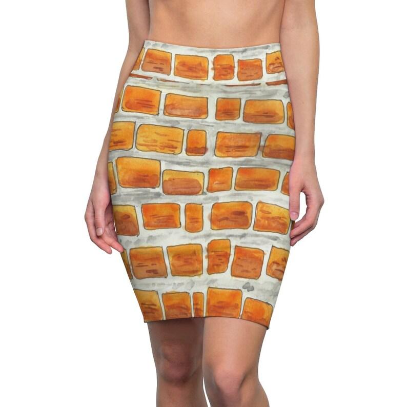 Cool Art Pencil Skirt 9  Retro custom gift  skirts dresses image 0