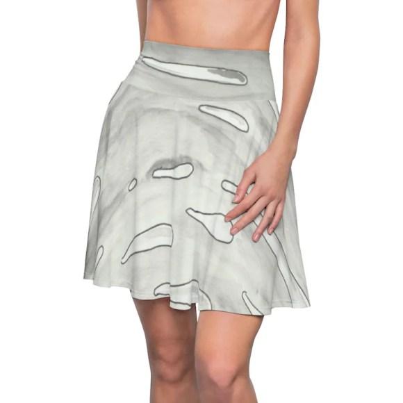 Cool Art Skater Skirt 5  Retro custom gift  skirts dresses image 0