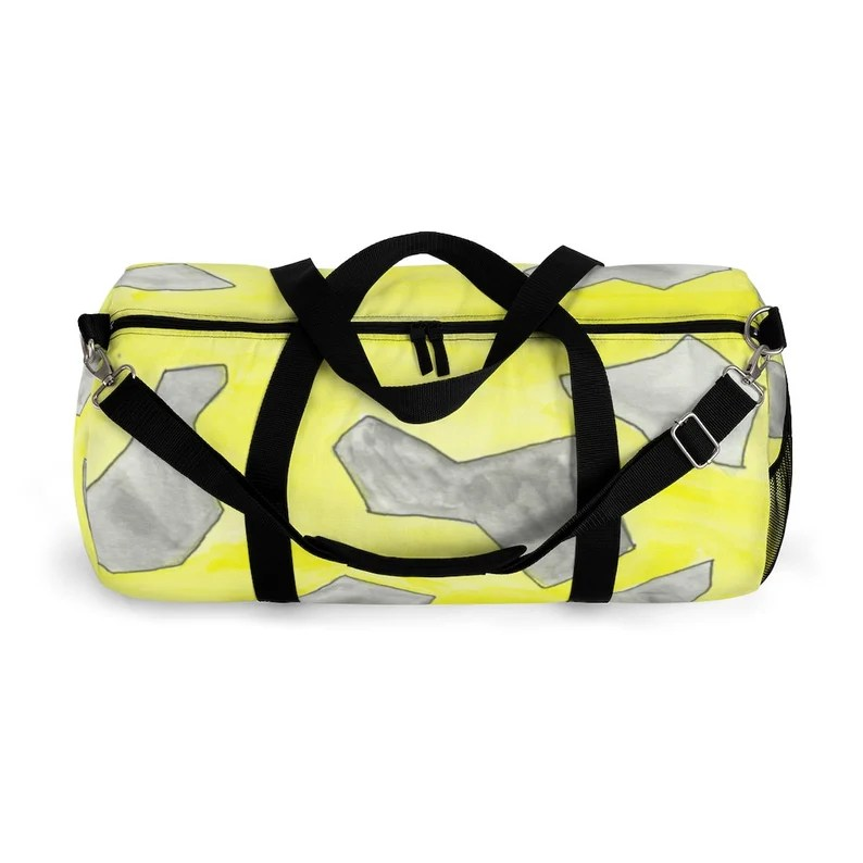 Cool Art Duffel Bag 2 sizes 13  Retro custom gift image 0