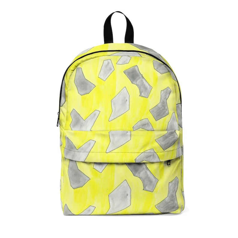 Urban Art Large Backpack 6  Retro custom gift  backpacks image 0