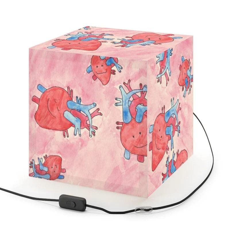 Cool Art Lamp 5  Retro custom gift pop art line art image 0