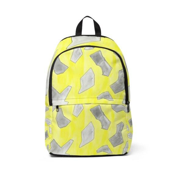 Urban Art Mid-sized Backpack 5  Retro custom gift  backpacks image 0