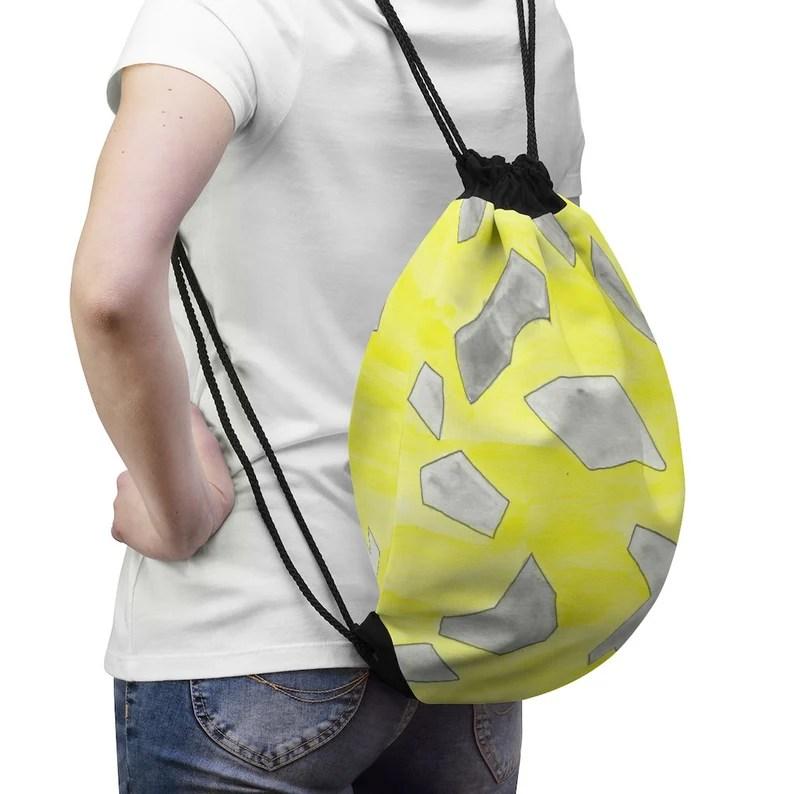 Urban Art Drawstring Bag 7  Retro custom gift aesthetic pop image 0