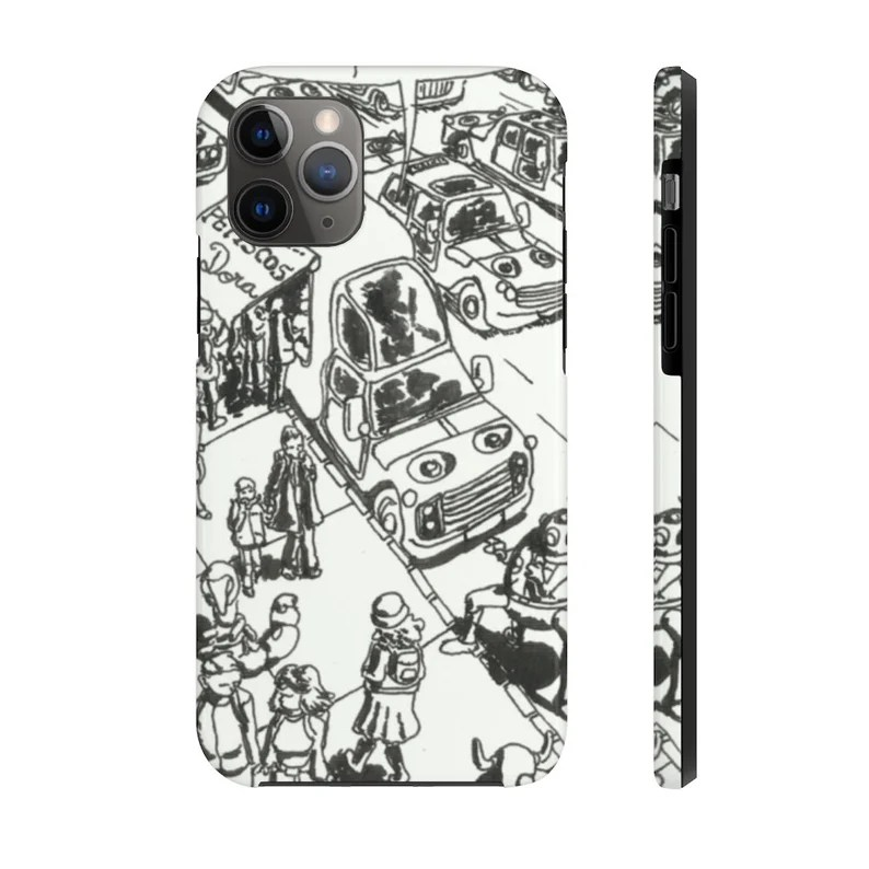 Urban Art Phone Case 12  Retro custom gift designer image 0
