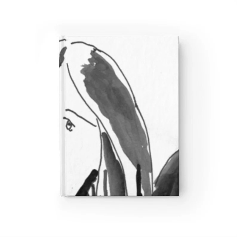 Blank Journal With Cool Art Cover 36  Retro custom gift image 0