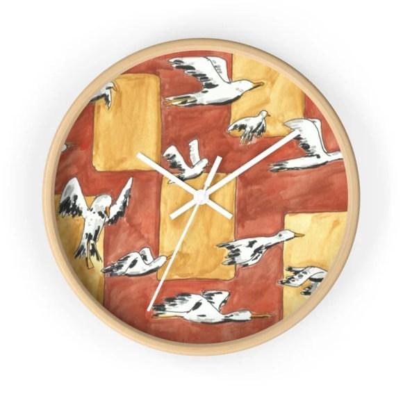 Cool Art Wall Clock 13  Retro custom gift designer image 0
