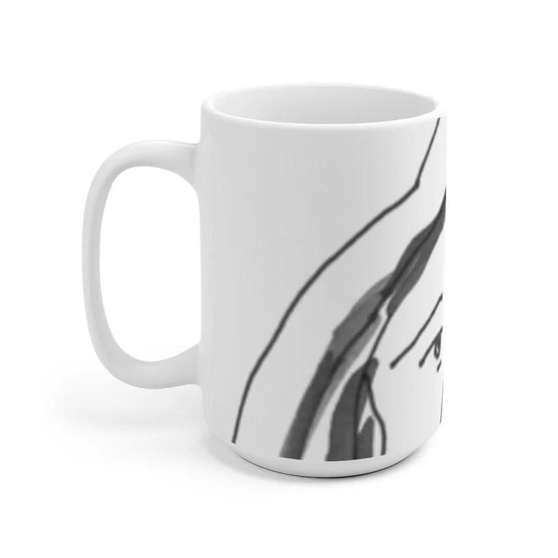 Urban Art Mug 2 sizes 22  Retro custom gift unique mugs image 0