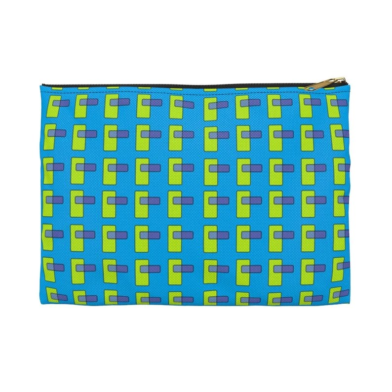Cool Art Zipper Pouch 2 sizes 7  Retro custom gift image 0