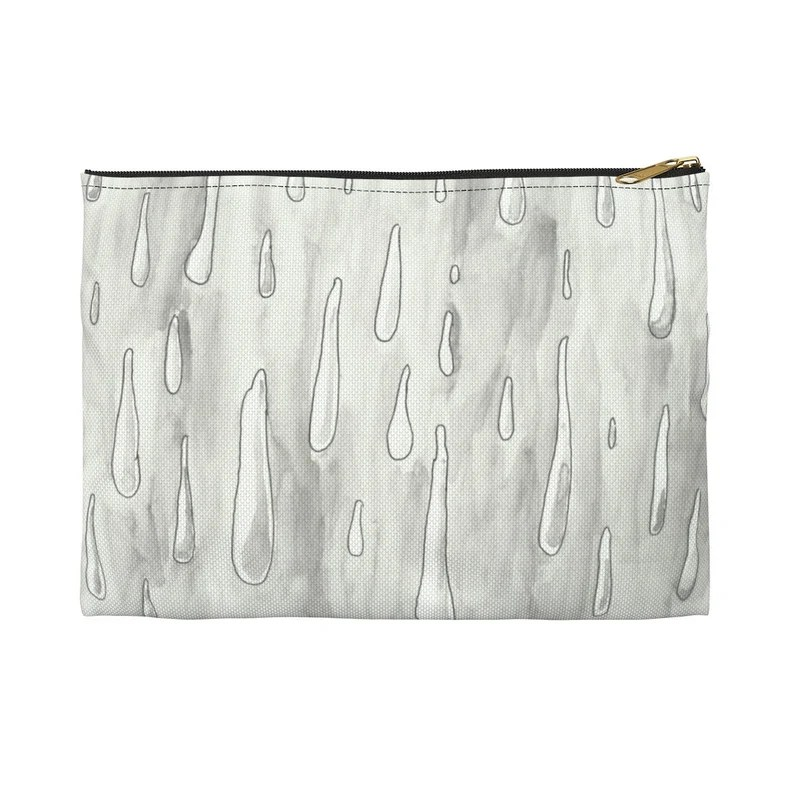 Urban Art Zipper Pouch 2 sizes 4  Retro custom gift image 0