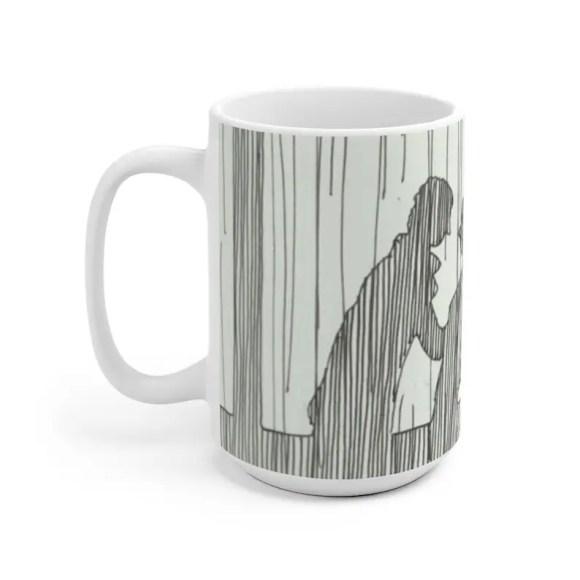 Urban Art Mug 2 sizes 62  Retro custom gift unique mugs image 0