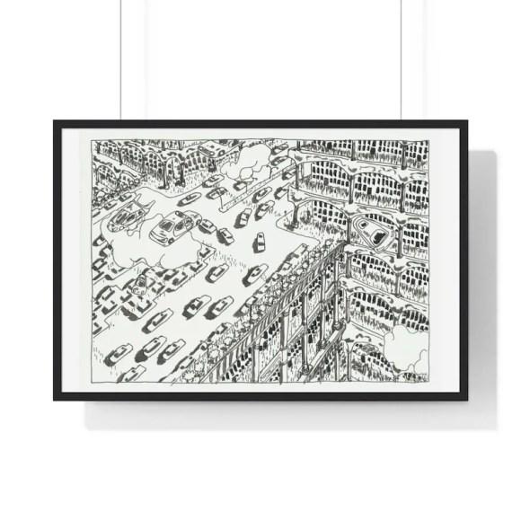 Urban Art Framed Poster 49  Retro custom gift urban pop image 0
