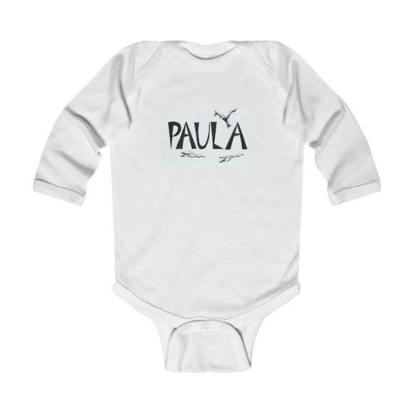 Personalized Baby Onesie   Retro custom gift infant bodysuits image 0