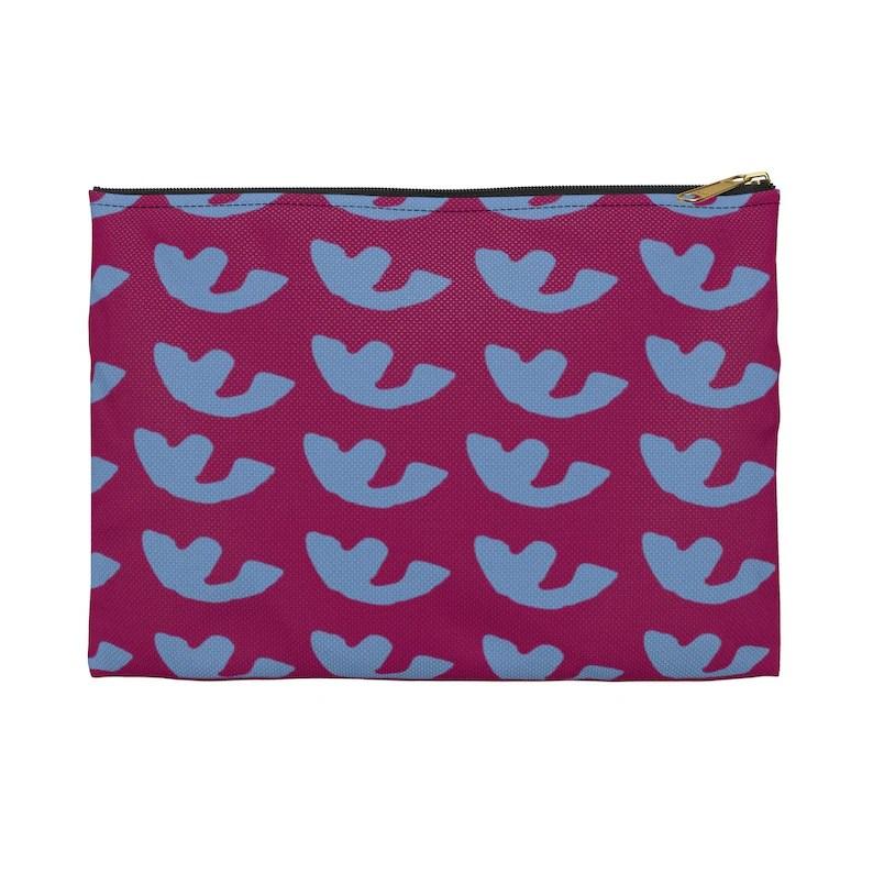 Cool Art Zipper Pouch 2 sizes 9  Retro custom gift image 0