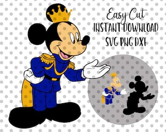prince mickey mouse etsy
