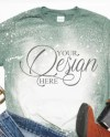T Shirt Mockup Blank Gray T Shirt Womans T Shirt Photo Etsy