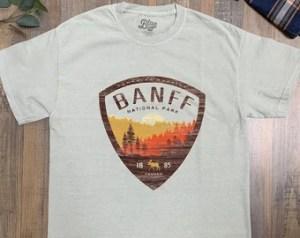 Banff t shirt | Etsy