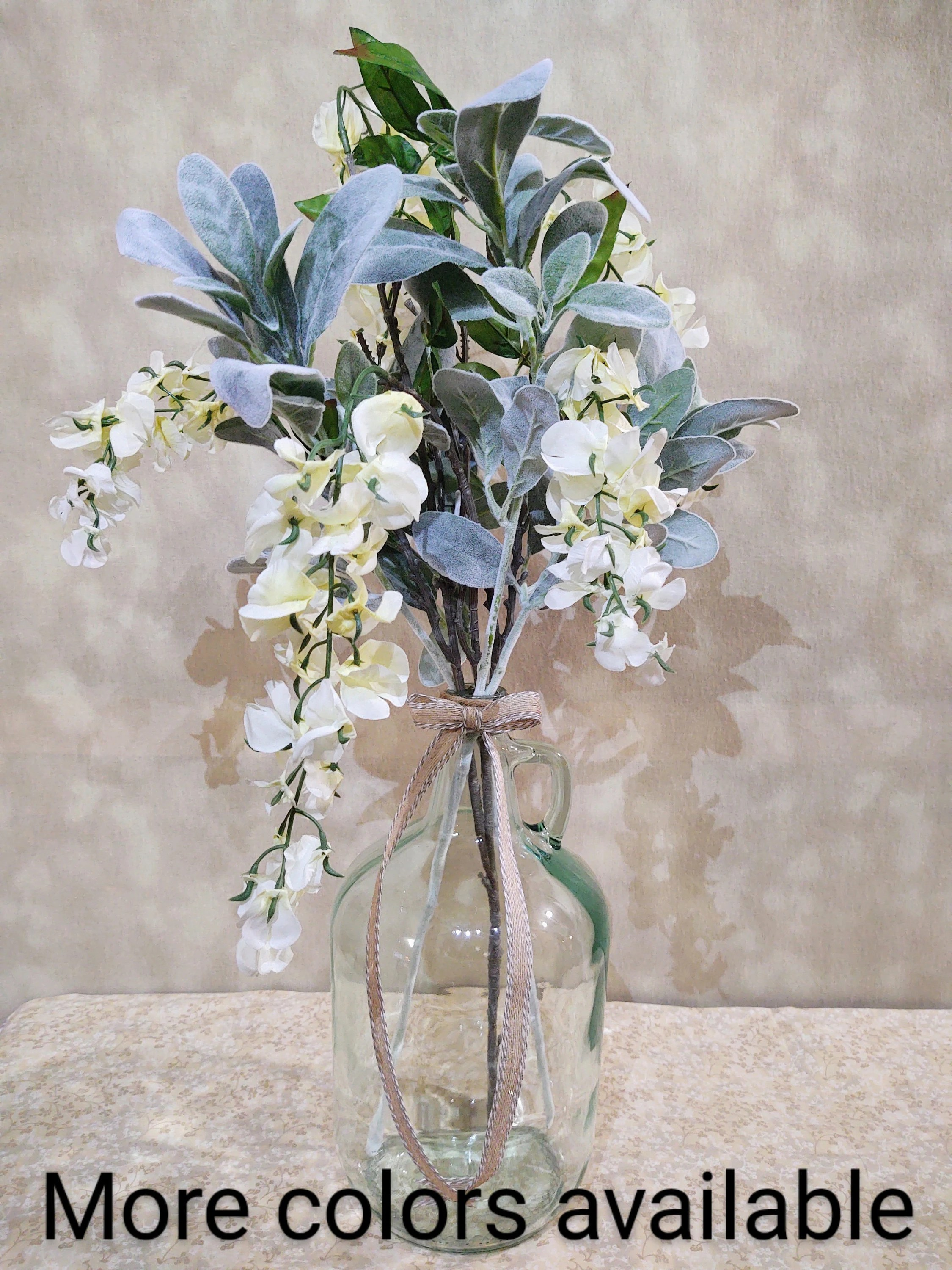 glass table centerpiece etsy